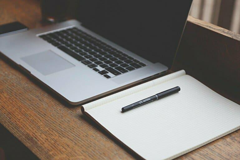 考え事をノート書く